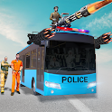 US Police Bus Shooter: Police Prisoner Transport icon