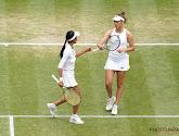 Elise Mertens zet met dubbelpartner Japans duo opzij en staat in finale dubbelspel op Wimbledon