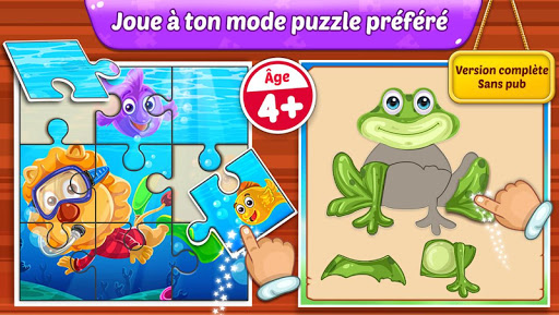 Puzzle Kids - Formes d'animaux et puzzles  captures d'écran 1