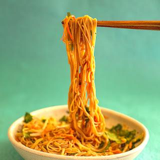 Korean Spicy Noodle Salad Recipe