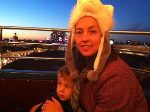 Photo: Finn and Mommy Ferris Wheel