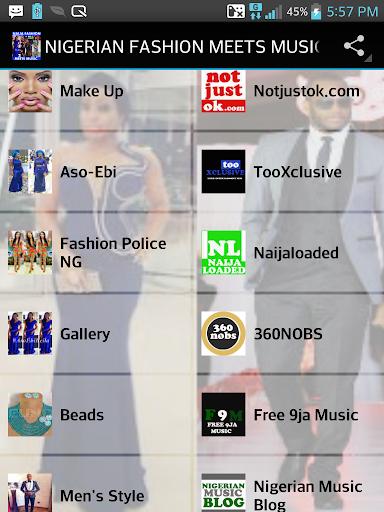NIGERIAN FASHION MEETS MUSIC