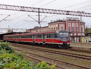 Photo: EN57-2053, Toruń Główny - Łódź Kaliska {Toruń Główny; 2013-09-28}