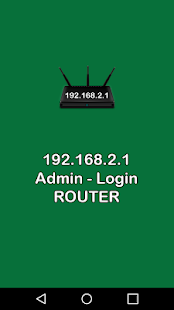 192.168.2.1 admin / login - náhled