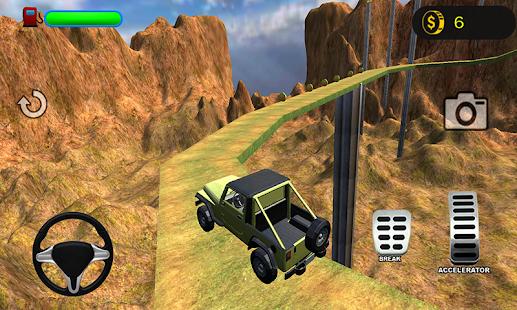 3D Mountain Climb 4x4 - náhled