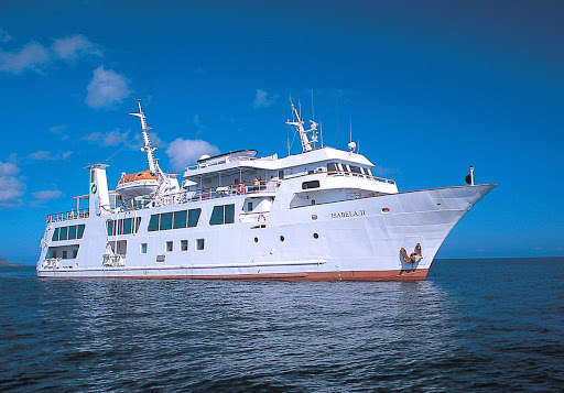 Avalon Isabela II's Galápagos Islands cruises feature sea kayaks, snorkeling equipment and a stargazing program.
