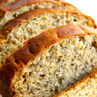 Banana Bread with Honey and Applesauce Instead of Sugar & Oil. Recipe