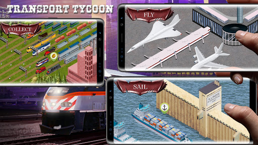 Chicago Train - Idle Transport Tycoon 1.0.91 screenshots 1