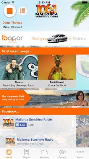 Mallorca Sunshine Radio by Das Inselradio S L  (Google Play, United