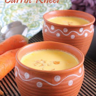 CARROT KHEER RECIPE | CARROT PAYASAM | EASY KHEER RECIPES.