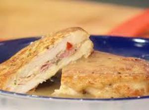 Monte Cristo Stuffed Chicken Recipe