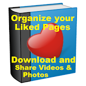 My Liked pages Manager for Facebook pages app. icon