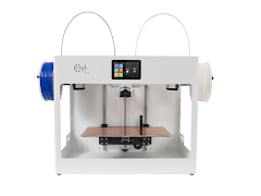 CraftBot Flow White IDEX 3D Printer