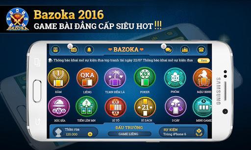 Bazoka - game bai online 2016