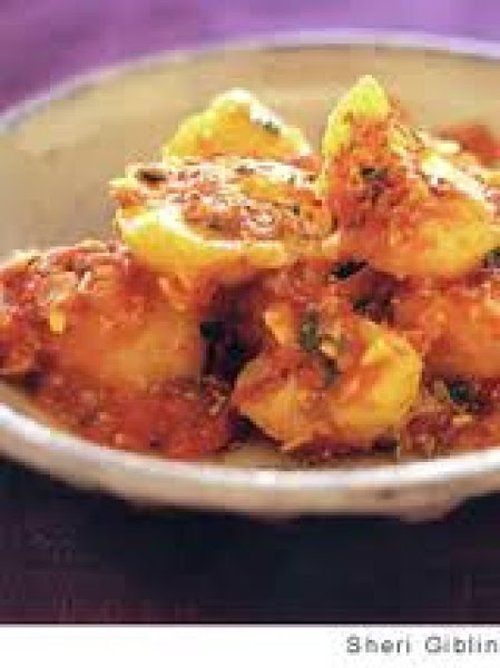 Helathy Potato-tomato Curry Recipe