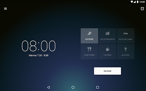 Sleep Better reloj despertador Screenshot