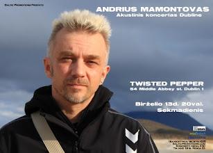 Photo: Andriaus Mamontovo akustini koncertas Dubline, 2010.06.13 myspace.com/andriusmamontovas