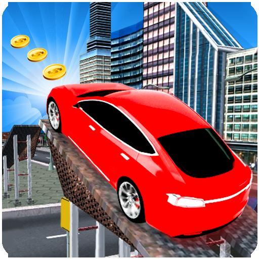 Tricky Car High Speed Challenge