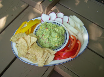Roasted Corn With Cumin Guacamole Recipe