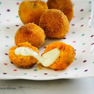 Pumpkin Cheese Balls, Great As Appetizers.