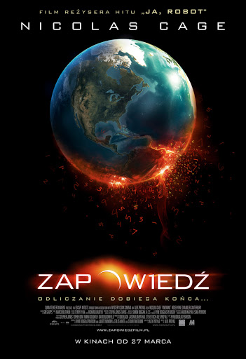 Polski plakat filmu 'Zapowiedź'