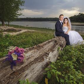by MIHAI CHIPER - Wedding Bride & Groom