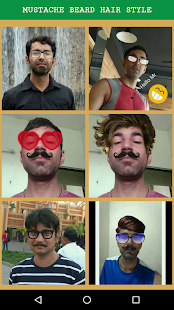 Boy Style Photo Editor - Mustache and Beard - náhled