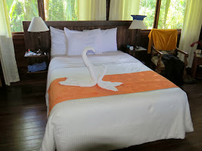 Photo: Our room at Tortuga Lodge.