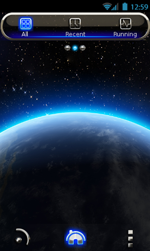 GO Launcher Theme Earth