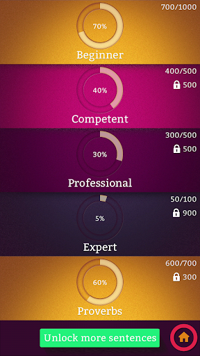 Learn English Sentence Master 1.0 screenshots 4