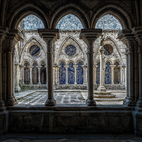 Cloisters Porto by Katherine Rynor - Buildings & Architecture Places of Worship ( interior, cathedral, architecture, porto, cloisters )