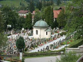 Photo: Der Friedhof von Bad Hofgastein