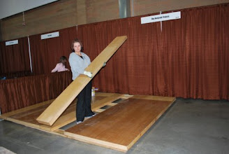 Photo: The last step is to install the center panels like a leaf in a table.