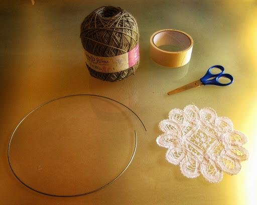 Materiales para construir un Atrapasueños