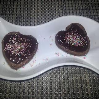Chocolate Mascarpone Molten Cake with Ginger-Chocolate Glaze.
