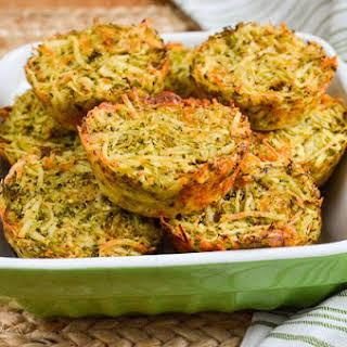 Syn Free Broccoli Cheddar Hash Brown Muffins.