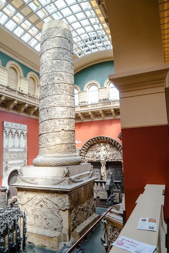 Inside the V&A Museum