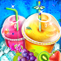 Ice Slush Cold Drink Maker - Kids Cooking Game icon