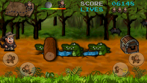 Retro Pitfall Challenge apkpoly screenshots 14
