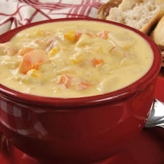Slow Cooker Country Chicken Chowder.