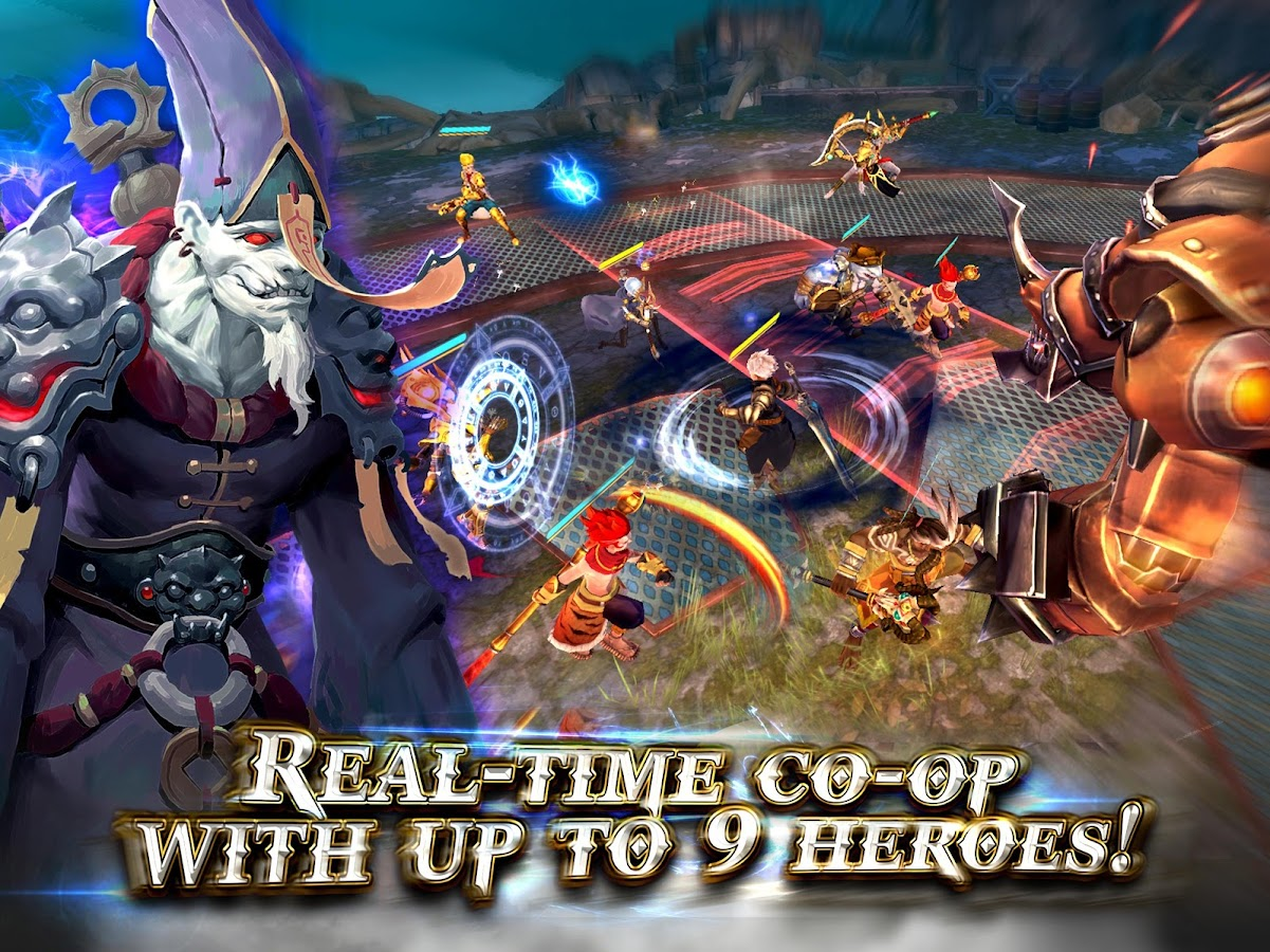 Heroes of Skyrealm- screenshot