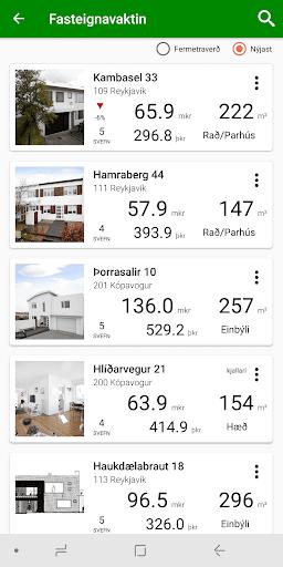Fasteignavaktin (Real estate watch) screenshots 1