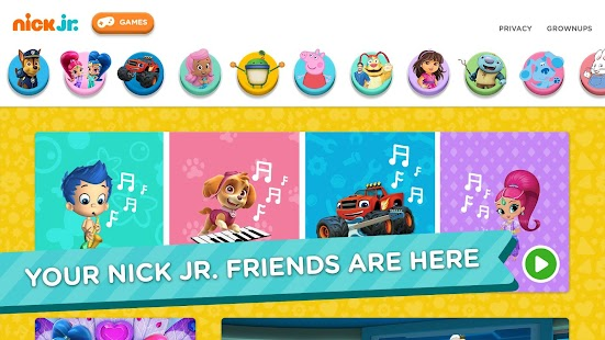 Nick Jr. - Shows & Games- screenshot thumbnail
