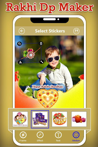 Rakhi Dp Maker : Rakshabandhan Profile Maker 1.0 screenshots 5