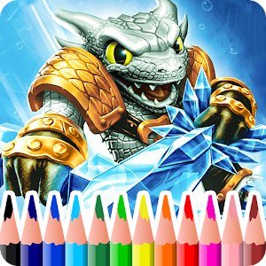 Coloring Book For Skylanders 2018 for PC