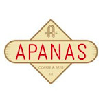 Logo for Apanas Coffee & Beer - Rock Rose