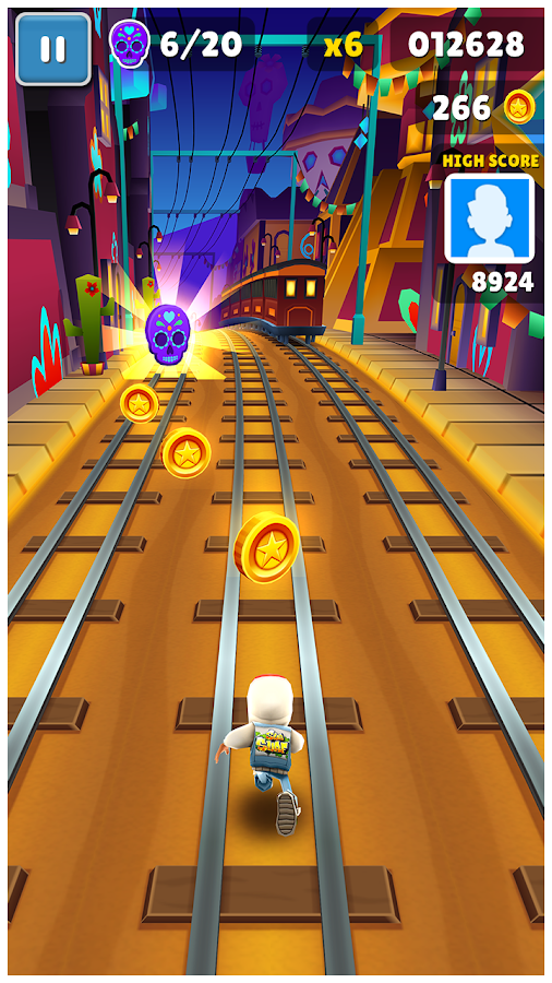 Subway Surfers– captură de ecran