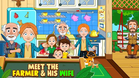 My Town: Farm Life Animals Game MOD APK [All Unlocked] 4