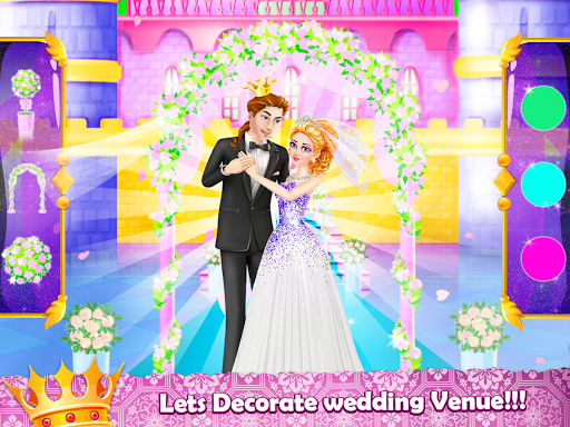 Royal Princess Wedding Makeover and Dress Up  captures d'écran 4