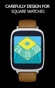 MATERIAL Watch Face HD screenshot 3